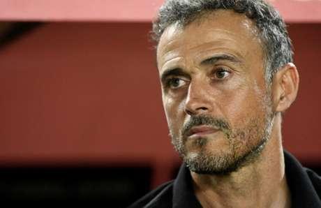 Luis Enrique não é mais o técnico da Espanha (Foto: AFP)
