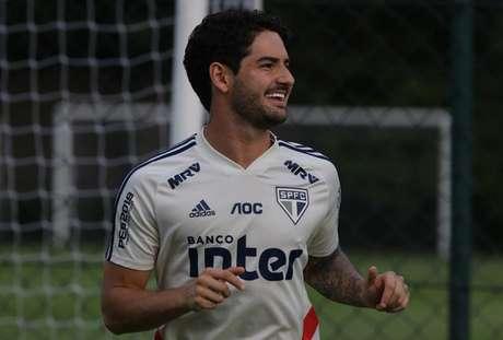 Pato já marcou três gols pelo São Paulo em 2019 - FOTO: Rubens Chiri/saopaulofc.net