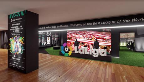 Space La Liga ficará disponível no Rio Sul dos dias 24 a 30 de junho no Shopping Rio Sul (Divulgação)
