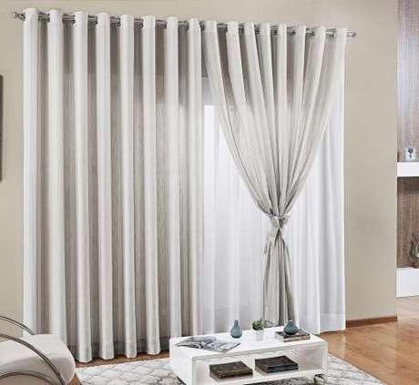 6. Tecido para cortina de linho – Foto: Pinterest