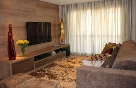 22. Tecido para cortina de voil para sala de estar – Por: Pinterest