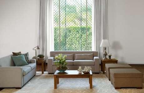 33. O tecido para cortina de sala deve ser versátil para quando você quiser abrir a janela – Por: Secorar