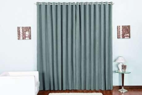 4. Tecido oxford para cortina que pode ser usado na sala ou no quarto – Por: Pinterest