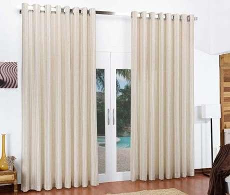 24. Tecido para cortina de casa – Por: Pinterest