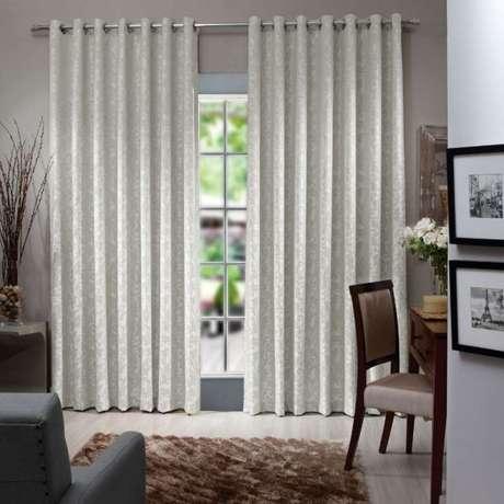 7. O tecido para cortina de jacquard é o mais sofisticado! – Por: Pinterest