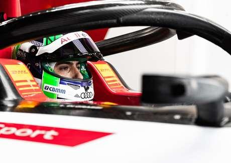 Di Grassi em momento decisivo na Fórmula E