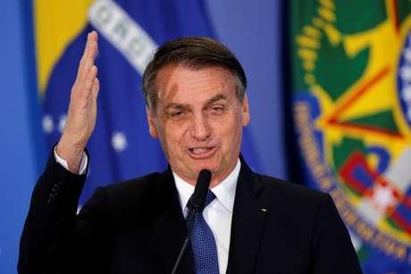 Presidente Jair Bolsonaro no Palácio do Planalto 13/06/2019 REUTERS/Adriano Machado