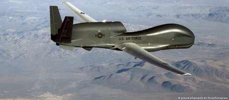 Grande aeronave americana não tripulada foi abatida pelo Irã na quinta-feira