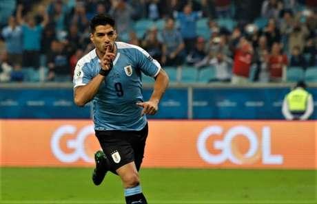 Suárez marcou um dos gols do Uruguai (Foto: Divulgação/Uruguai)