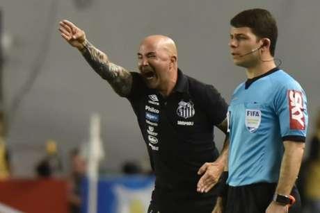 Argentino se decepcionou mais uma vez com a venda surpresa de Jean Lucas ao Lyon-FRA (Ivan Storti/Santos FC)