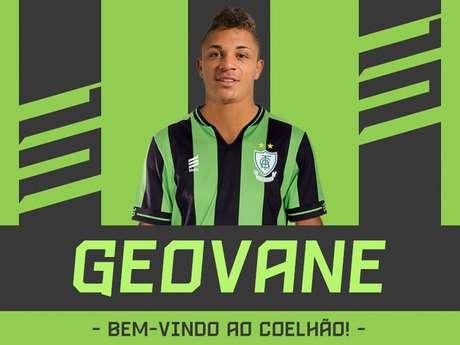 Geovane fica no Coelho até o término da Série B- (Divulgação/América-MG)