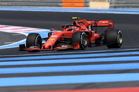 Leclerc considera um grande dia para a equipe