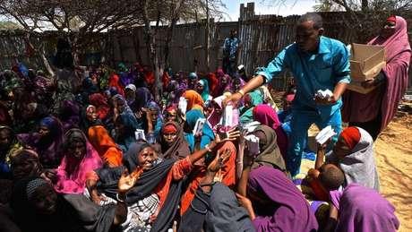 A fome nos dias de hoje em vários países africanos, incluindo a Somália, passa quase despercebida aos olhos dos países mais desenvolvidos