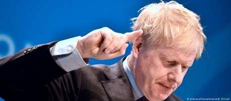 Ex-ministro do Exterior britânico Boris Johnson
