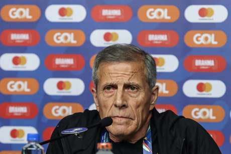 Tabárez está no comando do Uruguai há 13 anos de forma ininterrupta (Foto: Wander Roberto/CA2019)