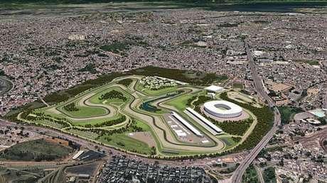 Projeto de novo autódromo no Rio prevê obra de R$ 700 milhões
