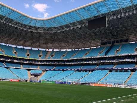 Arena do Grêmio receberá jogo do Brasil na quinta-feira (Foto: Divulgação)