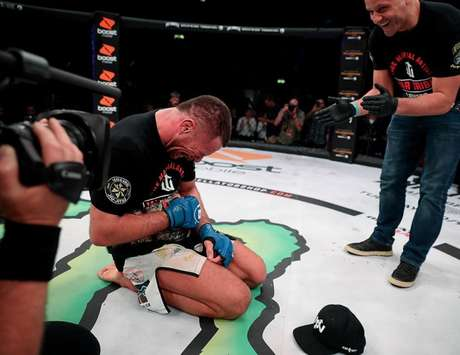 Rafael Lovato Jr é o mais novo campeão peso-médio do Bellator após derrotar Gegard Mousasi (Foto: Bellator MMA)