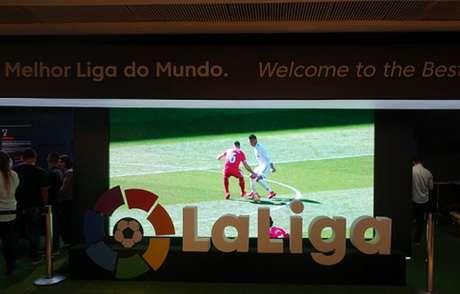 Evento 'Space LaLiga' representa futebol espanhol no Rio de Janeiro