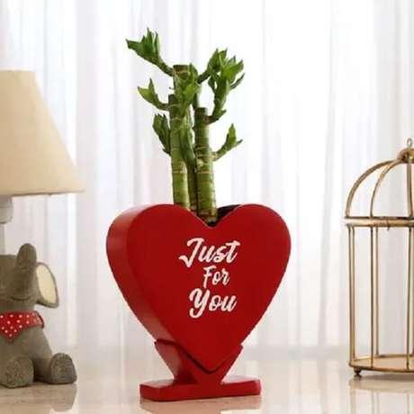 3. Bambu da sorte comtrêscaules atrai riqueza, longevidade e felicidade. Fonte: Pinterest