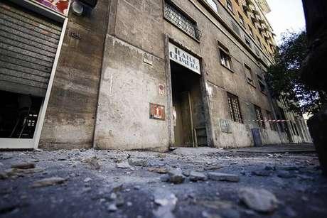 Alguns edifícios registraram danos leves, mas tremor não deixou mortos