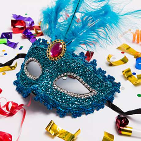 33. Máscaras para festa à fantasia – Por: Pinterest
