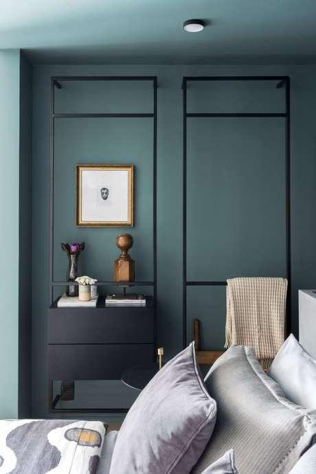 32. Aposte nos tons de verde escuro para formar paletas de cores elegantes – Por: Triart Arquitetura