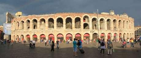 Arena de Verona recebe espetáculos até os dias de hoje