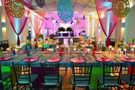 2. a decoração para festa à fantasia deve ser super criativa e divertida! – Por:Guia Tudo Festa