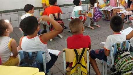 Alunos da rede municipal de Sobral; cidade cearense tem conseguido dar educação de qualidade com níveis adequados de igualdade