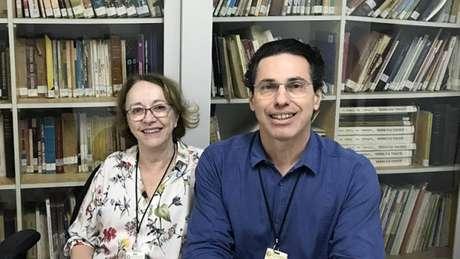 Maria Josefa Penon Rujula e Cássio Silveira.