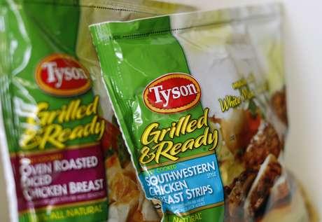 Produtos de frango da Tyson 29/05/2014 REUTERS/Mike Blake