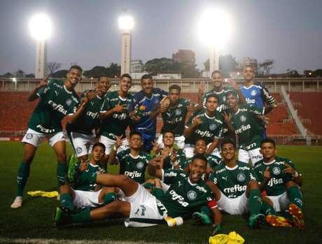 Time sub-16 do Palmeiras conquistou a Série Prata da Copa Internacional LNTS (Fernando Roberto/Agência Futpress)