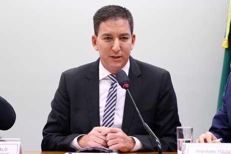 Glenn Greenwald em audiência pública na Câmara dos Deputados