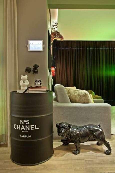 1. Invista na tendência de tonel tambor decorativo para a sua casa – Foto: Casa Vogue