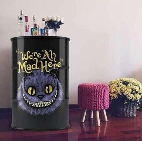 2. Saiba escolher o tonel decorativo que vai atender às suas necessidades – Foto: Habitta Design