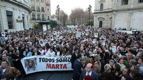 Após o caso Alcácer, outros crimes mobilizaram a opinião pública na Espanha, como o desaparecimento da jovem Marta del Castillo em Sevilha, em janeiro de 2009