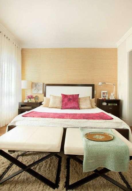 5. As cortinas para quarto também tem como finalidade complementar a decoração do ambiente.