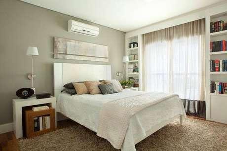 7. As cortinas para quarto podem ser encontradas no mercado em vários tamanhos, tecidos e cores.