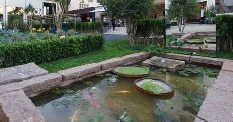 40. Escolha o formato do lago artificial de acordo com o ambiente- Por: Construindo Décor