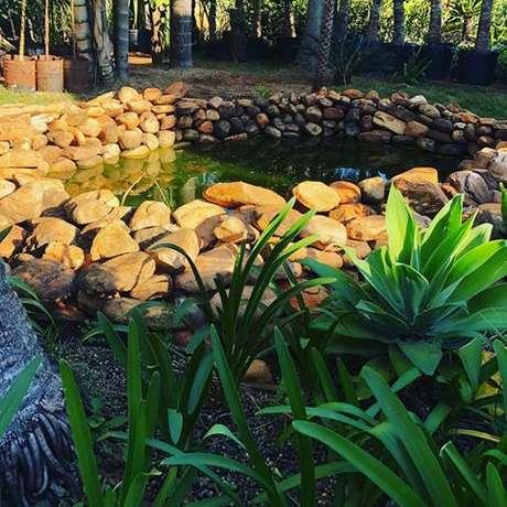 43. O lago artificial é perfeito para jardins – Por: Pinterest