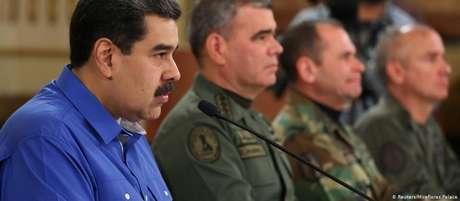 """Maduro afirmou que será implacável em conduzir uma """"contraofensiva revolucionária"""" a uma """"tentativa de golpe fascista"""""""