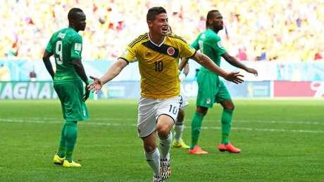 James faz boa Copa América (Foto: Reprodução)