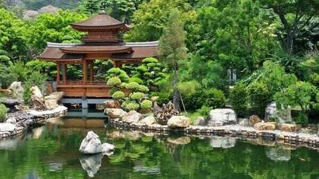 35. Culturas e estilos agregam valor ao Jardim Japonês. Fonte: Pinterest