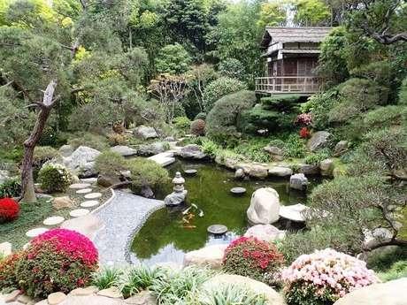 2. Jardim Japonês formado por um projeto paisagístico encantador. Fonte: Arquidicas