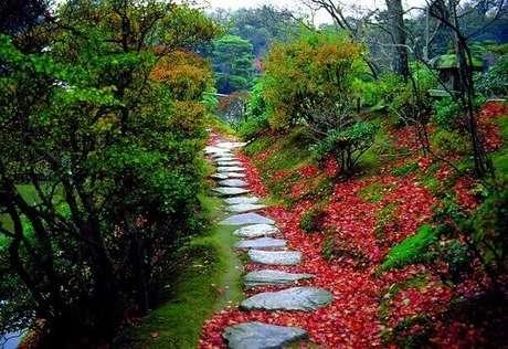 69. O Jardim Japonês é sempre um mistério a ser desvendado. Fonte: Pinterest