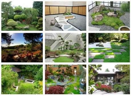 71. Os cinco elementos que compõem esse jardim. Fonte: Japão em Foco