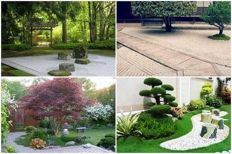 74. Pedras, cascalho e areia são elementos essenciais presentes nesse jardim. Fonte: Japão Em Foco