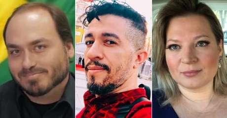 Carlos Bolsonaro, Jean Wyllys e Joice Hasselmann: mobilização digital que a maioria dos artistas não consegue igualar
