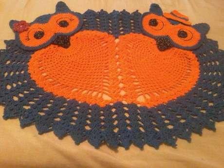 46. O tapete de coruja de casal é perfeito para casais apaixonados! – Por: Pinterest